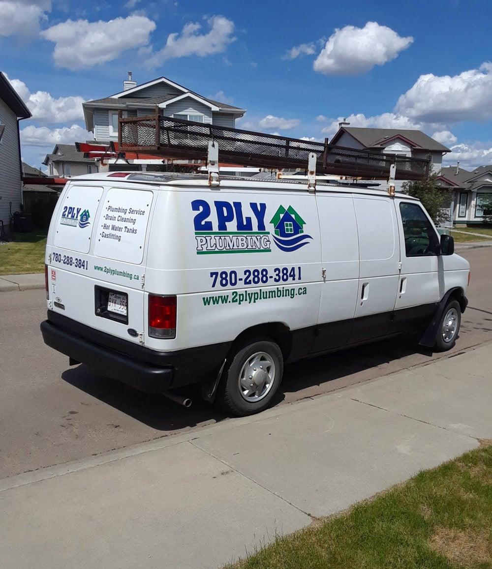 Edmonton Plumbing Work Truck